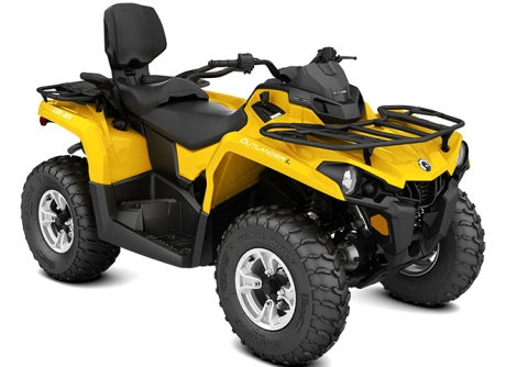 BRP Can Am Outlander MAX 450 DPS Gelb