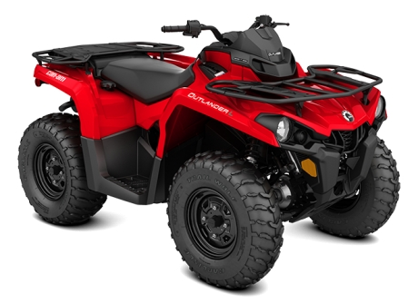 BRP Can Am Outlander 450 BASE Red